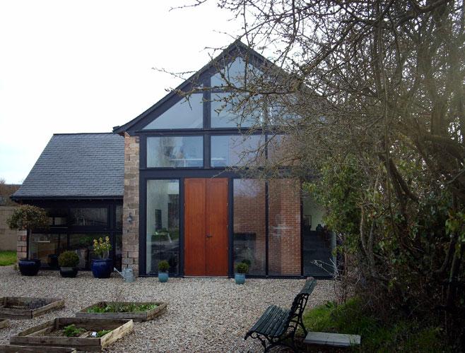olivier tran architecture int rieure transformation d 39 une grange non viabilis e en habitation. Black Bedroom Furniture Sets. Home Design Ideas